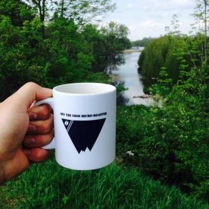 kawartha lake mom OTG coffee mug