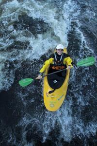 mich1100 kayaking