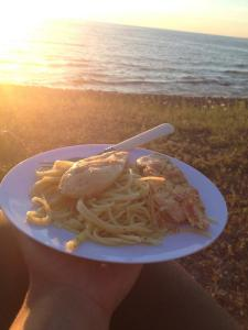 mish1100 food chicken and pasta