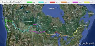 We are paddling from Rocky Mountain House Alberta to Lachine Quebec this year.